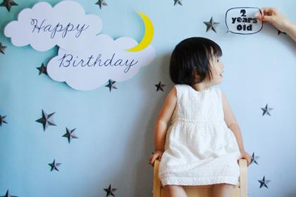 Happy Birthday! 娘、2歳になりました