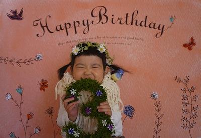 3歳バースデー♡1 (2)