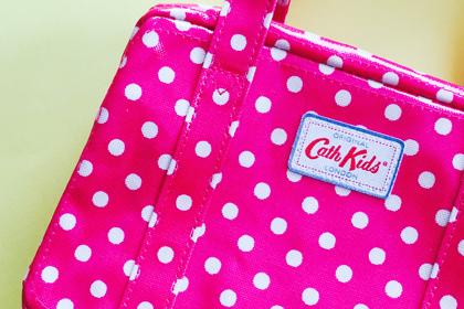 オススメの出産祝い:色んな使い方ができるキャスキッドソンのバッグ