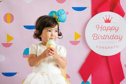 おこちゃまも大好き!かわいいアイス型カップケーキ