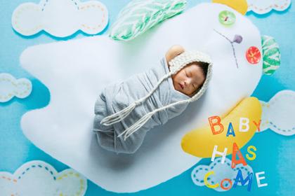 NEW! 生まれたての赤ちゃんのための、おうち写真館<babybear>シリーズ誕生
