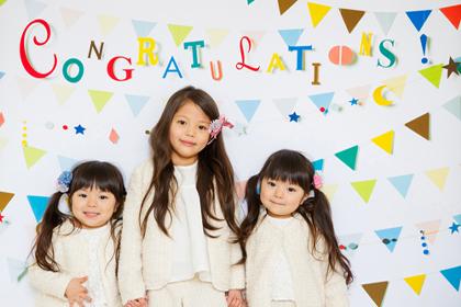 卒業や入園・入学のお祝いに!<おうち写真館 garland>にLサイズがおすすめ♪
