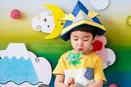 「こいのぼり」だけじゃもったいない!風車・おにぎり・ヒゲプロップス…我が子に持たせたい撮影小道具4選