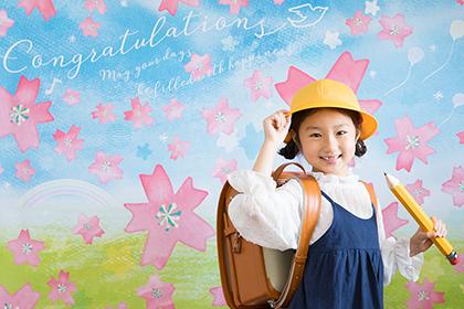NEW!! 卒業&入学のためのデザイン登場!<おうち写真館 sakura>