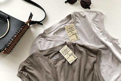この夏の私的最高ヒット。無印良品のインド綿天竺編みスリーブレスTシャツ