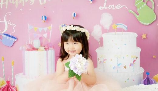お客様フォト:プリンセスみたい!ふんわりかわいい2歳のバースデーフォト